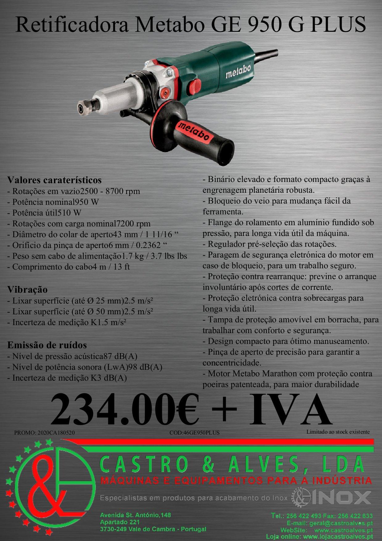 GE 950 G PLUS