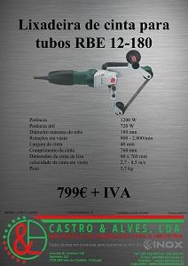 LIXADEIRA TUBOS RBE 12-180